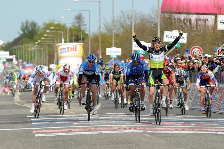 Giro 2012 S3 Matt Goss wins (picture Daniele Badolato - LaPresse - RCS Sport)