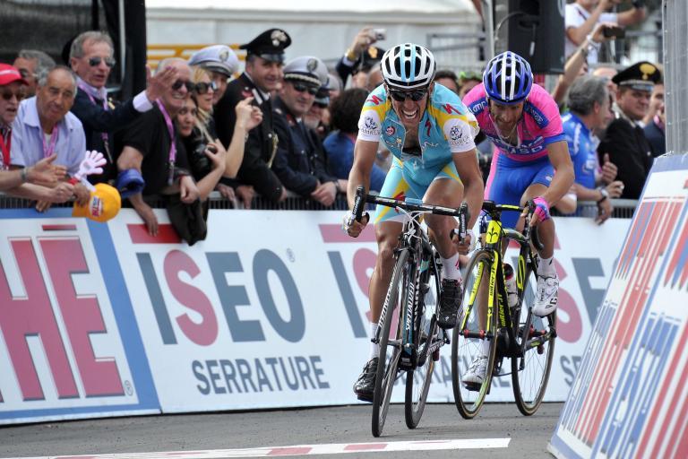Giro 2012 S7 Tiralongo wins (pic Gian Mattia D'Alberto - LaPresse - RCS Sport)