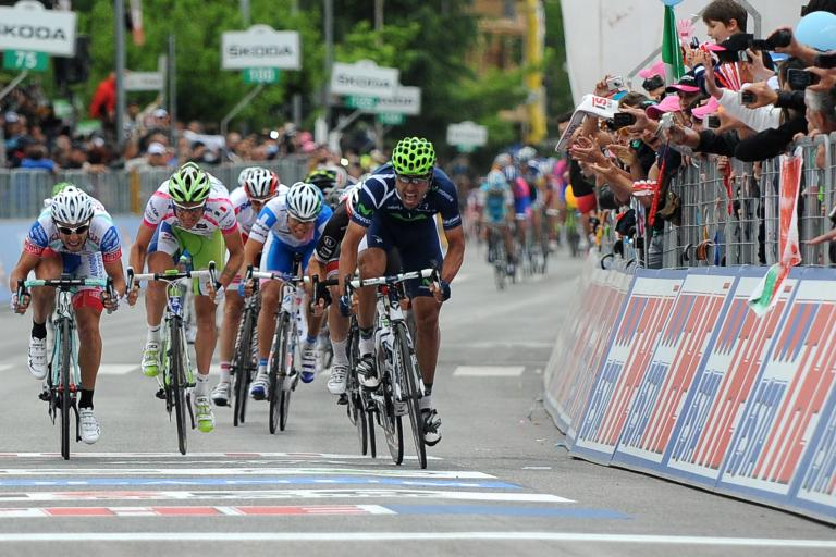 Giro 2012 S9 Ventoso wins (Fabio Ferrari - LaPresse - RCS Sport)