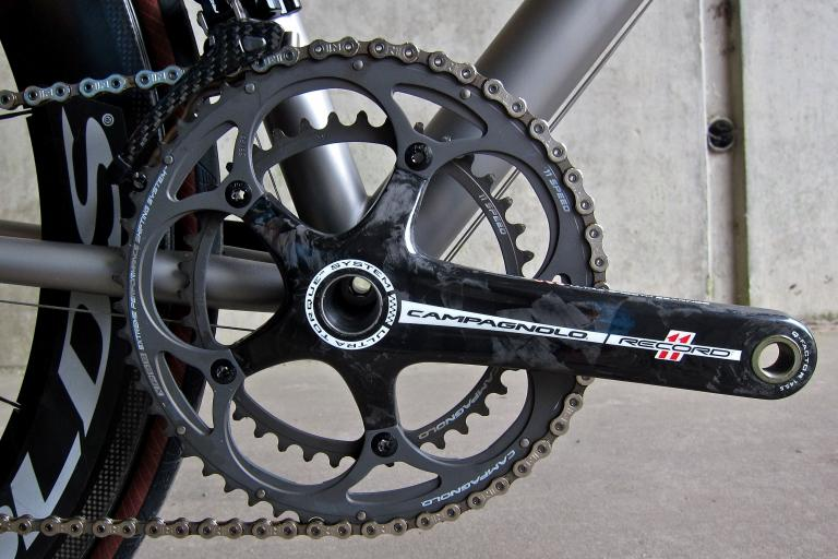 Mosaic RT-1 - Campagnolo Record 11 Chainset