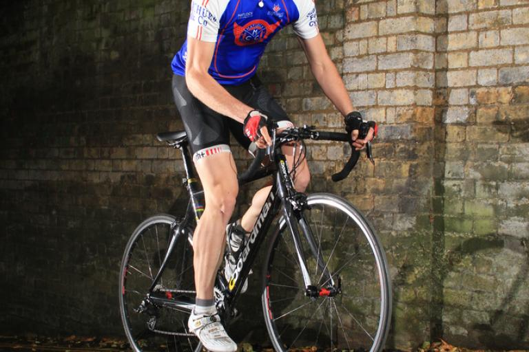 2010 Rollapaluza Urban Hill Climb senior male winner Chris Metcalfe pic courtesy Andy Waterman.jpg