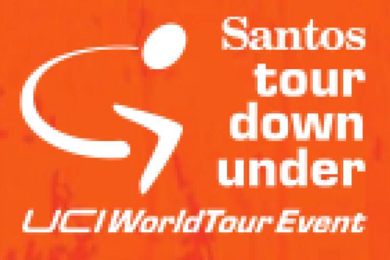 2012 Santos Tour Down Under Logo