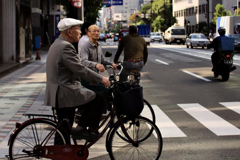 Age is no barrier to cycling - Credit JanneM via Flickr