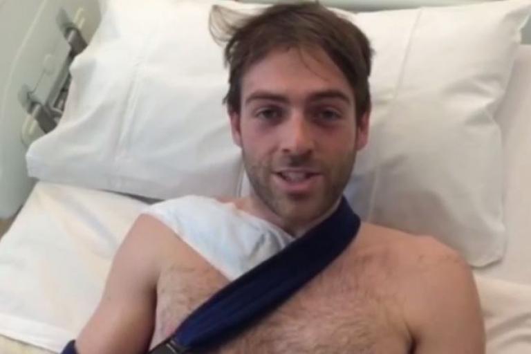 Alex Dowsett post-surgery YouTube still