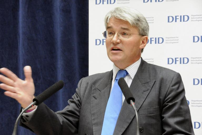 Andrew Mitchell (CC licensed image by DFID - UK Department for International Development:Flickr)