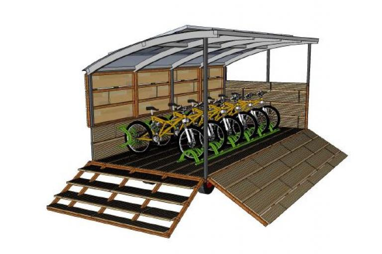 Artist's impression of New Forest mobile docking system (source NFPFA bid document)