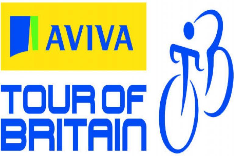 Aviva Tour of Britain logo