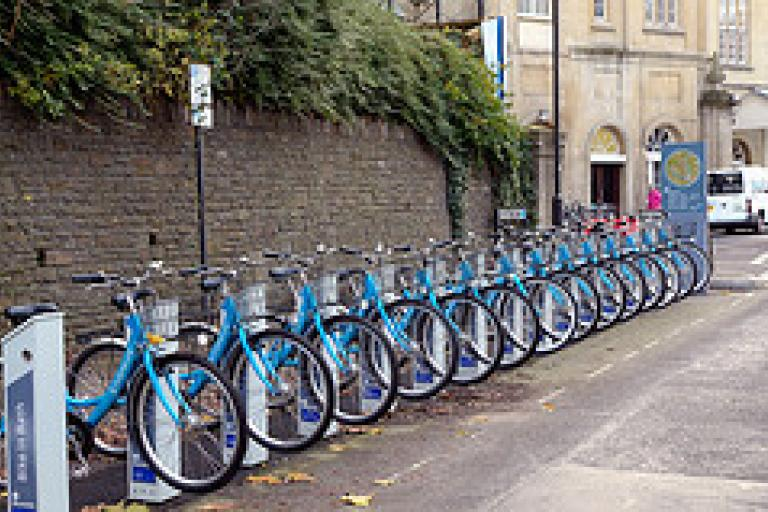 Bath bike hire bikes