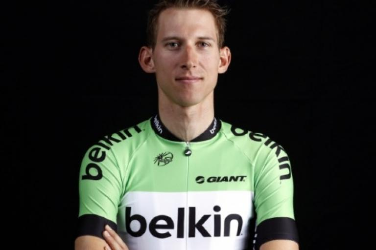 Bauke Mollema in Belkin Procycling kit (pic Belkin Procycling)