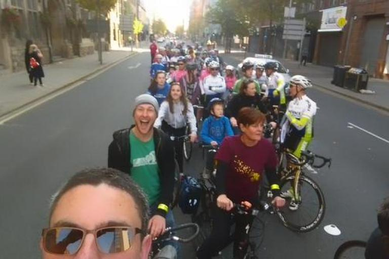 Belfast Ciclovia_ pic by @NIGreenways