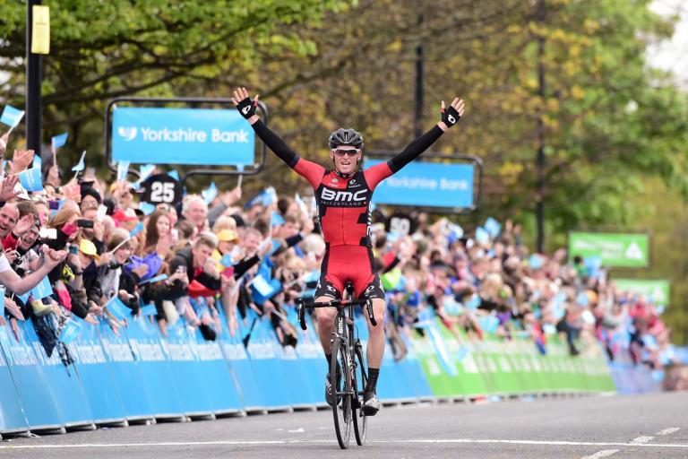 Ben Hermans wins 2015 Tour de Yorkshire Stage 3 (picture Alex Broadway, SW Pix.com)