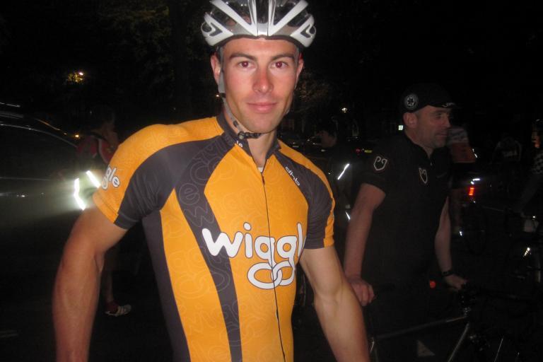 Ben Wiggle Hill Climb winner