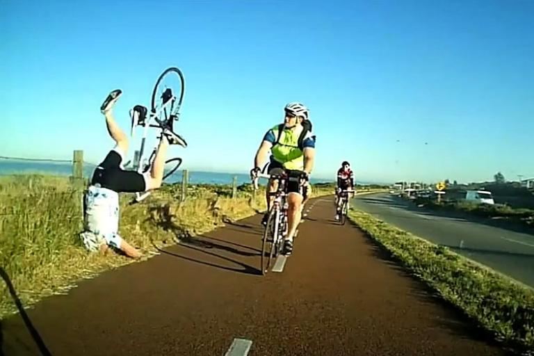 Bike Path wipe out