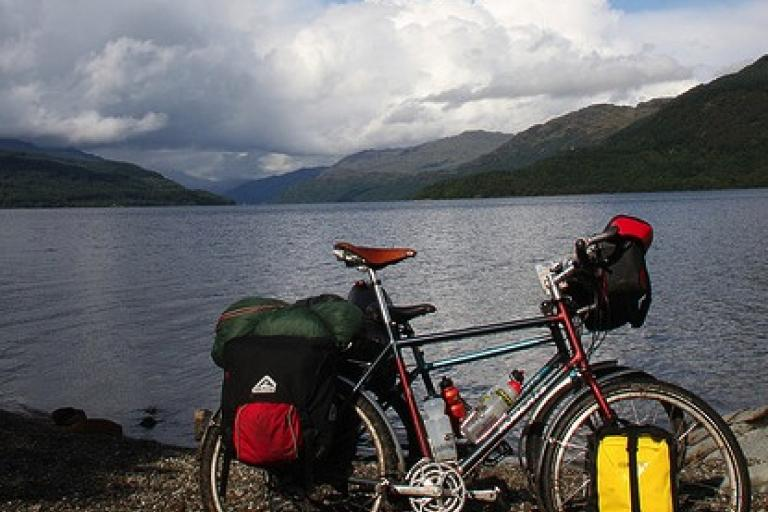 Bike at Loch Lomond 2