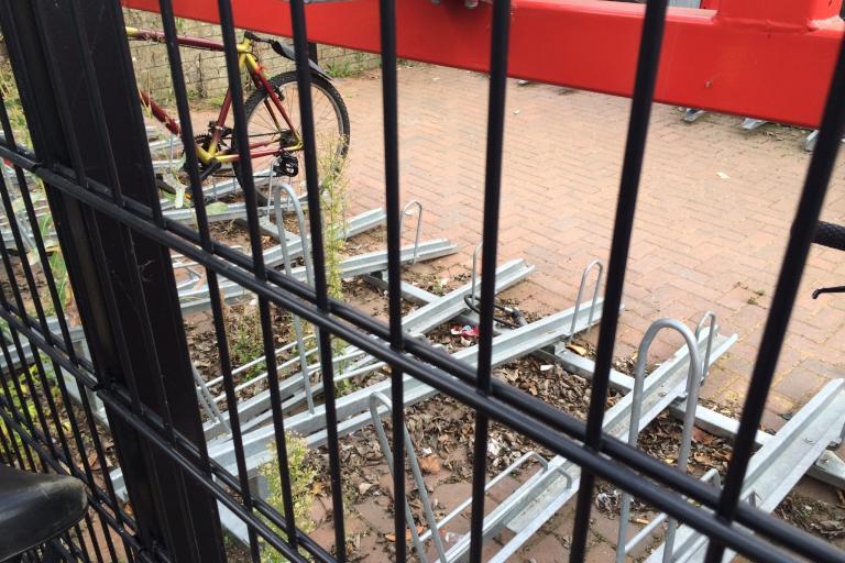 Bishops Stortford bike parking 03