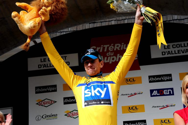 Bradley Wiggins on Dauphine Podium copyright Photosport International.jpg