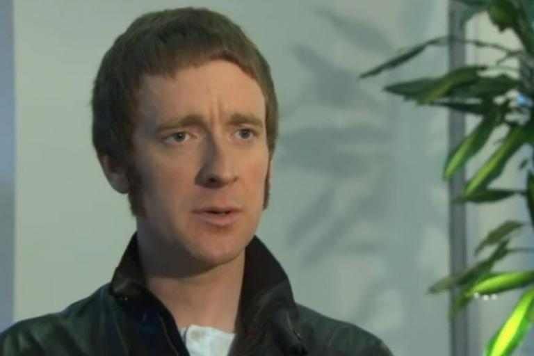 Bradley Wiggins on Sky News still