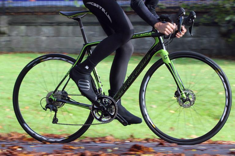 Cannondale Synapse Carbon Ultegra Disc - riding 3