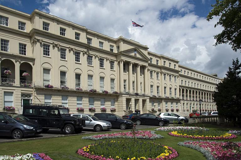 Cheltenham Municipal Offices (picture - Saffron Blaze, Wikimedia Commons)