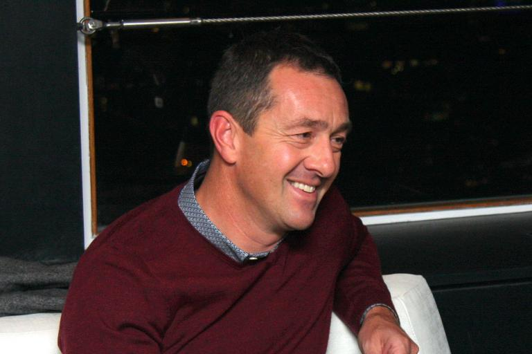 Chris Boardman smiling