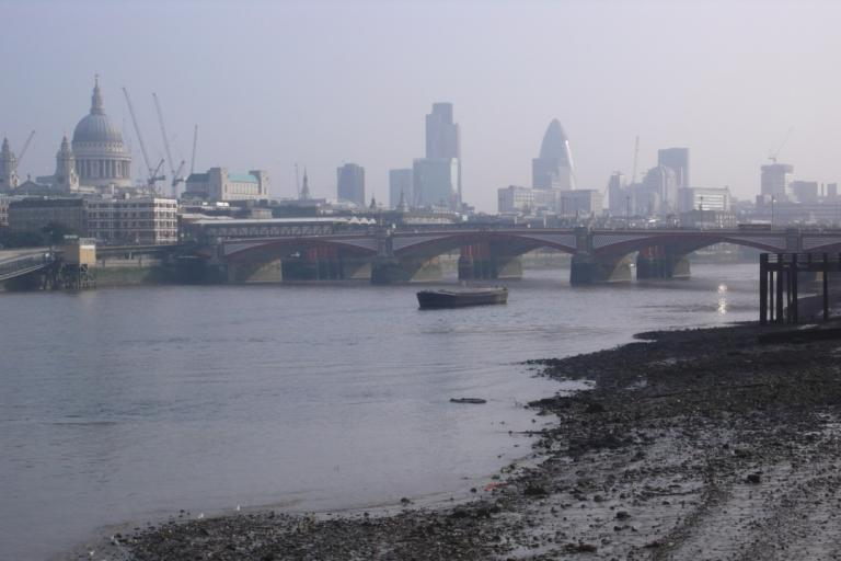 City of London from the Thames copyright Simon MacMichael .jpg