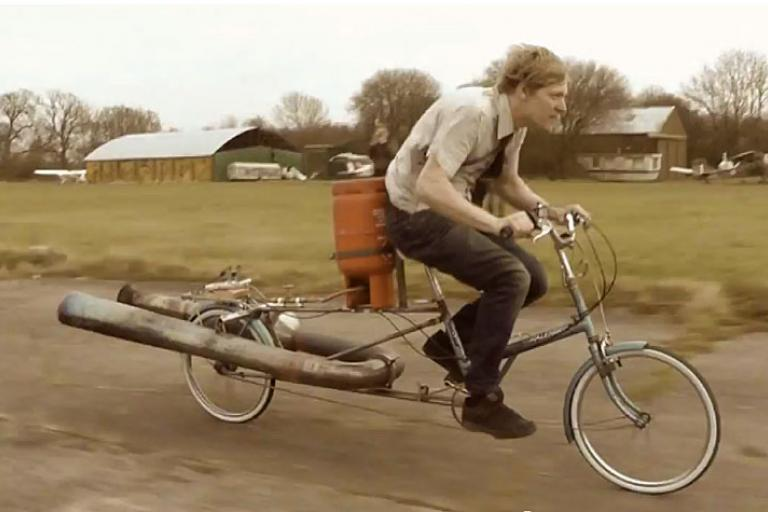 Colin Furze jet bike