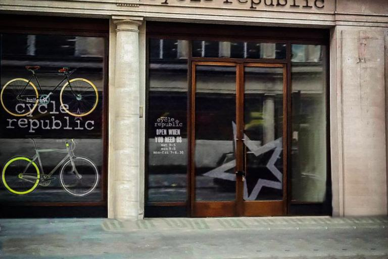 Cycle Republic Shop front