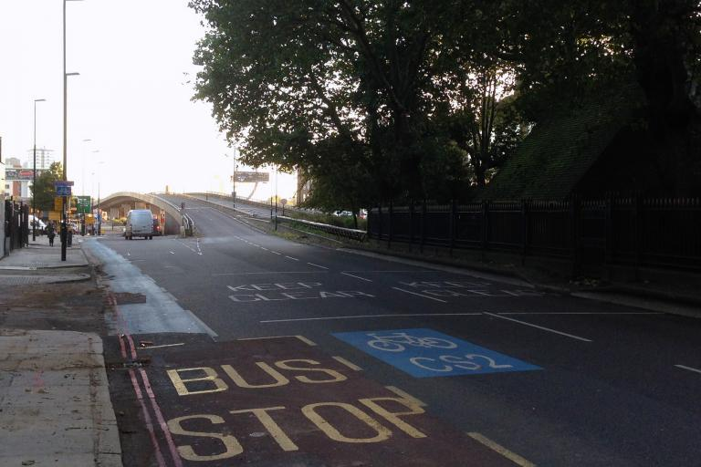 Cycle Superhighway2 (CC licensed by diamond geezer:Flickr)