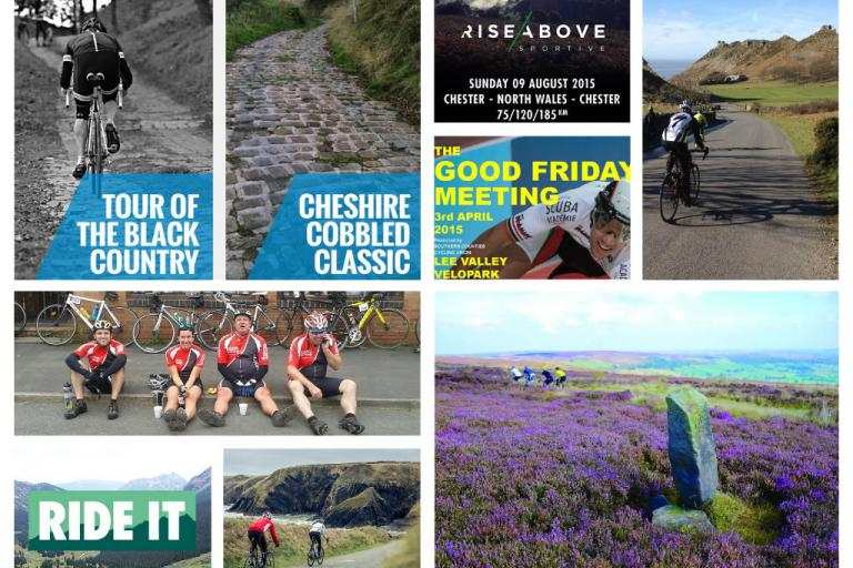 Cycling event round-up 2015 - collage 1