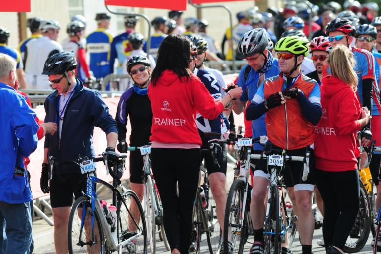 Cyclone Challenge riders receive medals