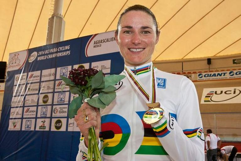 Dame Sarah Storey (copyright Britishcycling.org.uk)