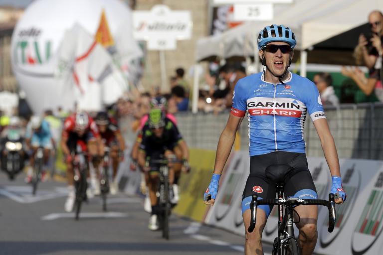 Dan Martin wins Il Lombardia 2014 - picture Gian Mattia d'Alberto, LaPresse