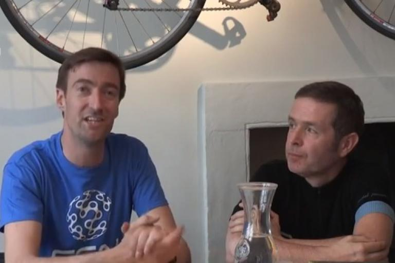 Daniel Lloyd and road.cc's Tony talk TDF