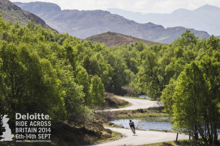 Deloitte Ride Across Britain 2014