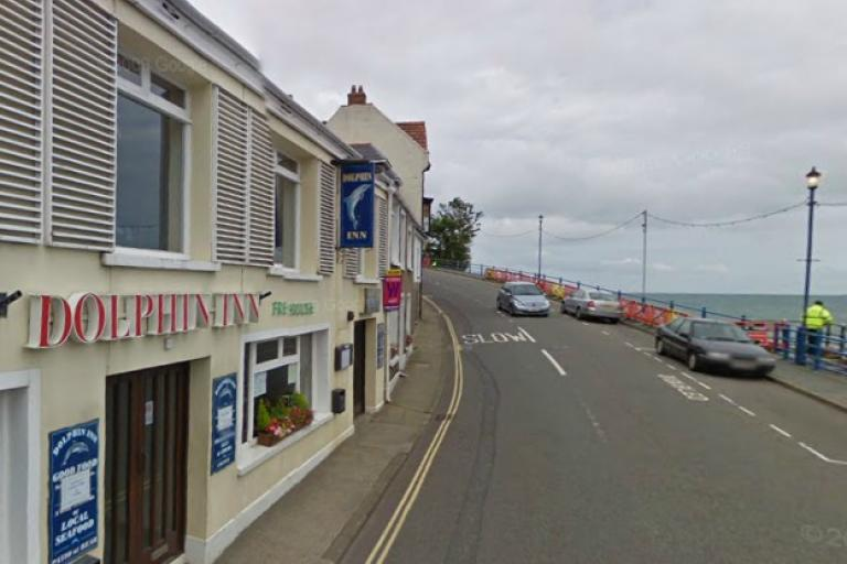 Dolphin Inn, Combe Martin (source GoogleStreetView)