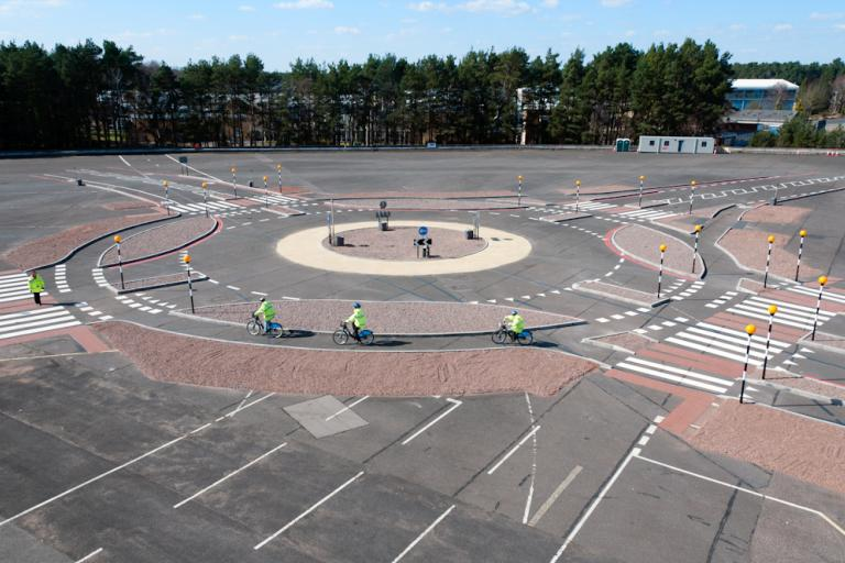 Dutch Style Roundabout (picture TfL)