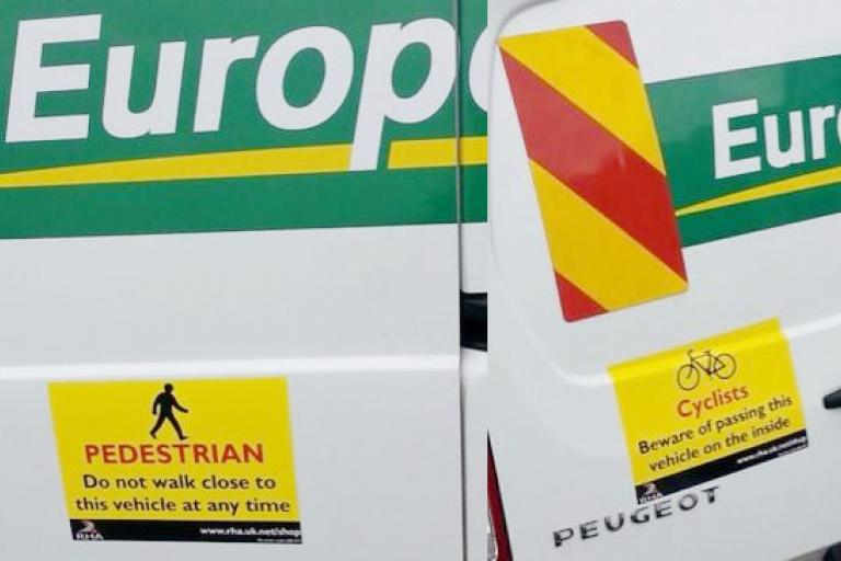 Europcar stickers