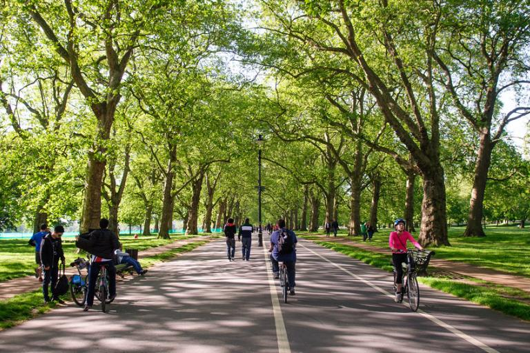 Existing bike paths in Hyde Park are not suitable for increased use, say Royal Parks (CC licenced image by Joe Dunckley:Flickr)