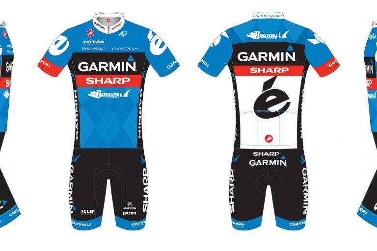 Garmin-Sharp 2012 TDF kit