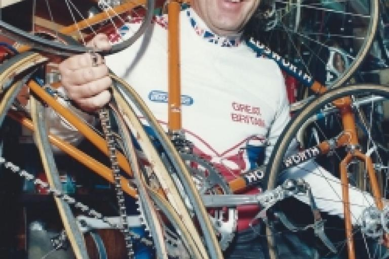 Geoff Shergold © British Cycling
