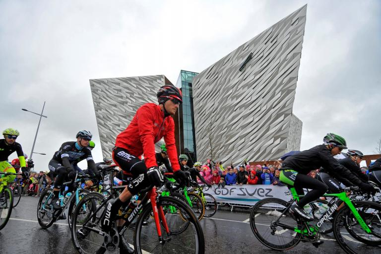 Giro d'Italia 2014 Stage 2 in Belfast (picture LaPresse)