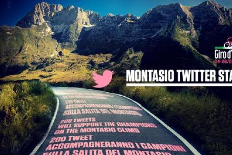 Giro d'Italia Twitter Stage