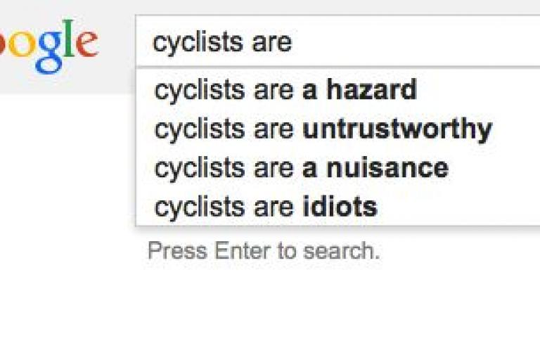 Google cyclists are