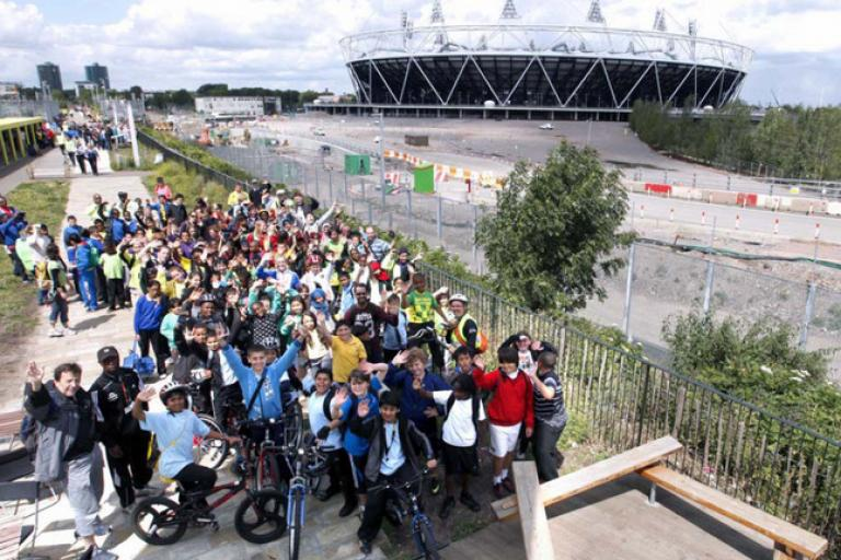 Hackney Bike across the Borough - pic LCC
