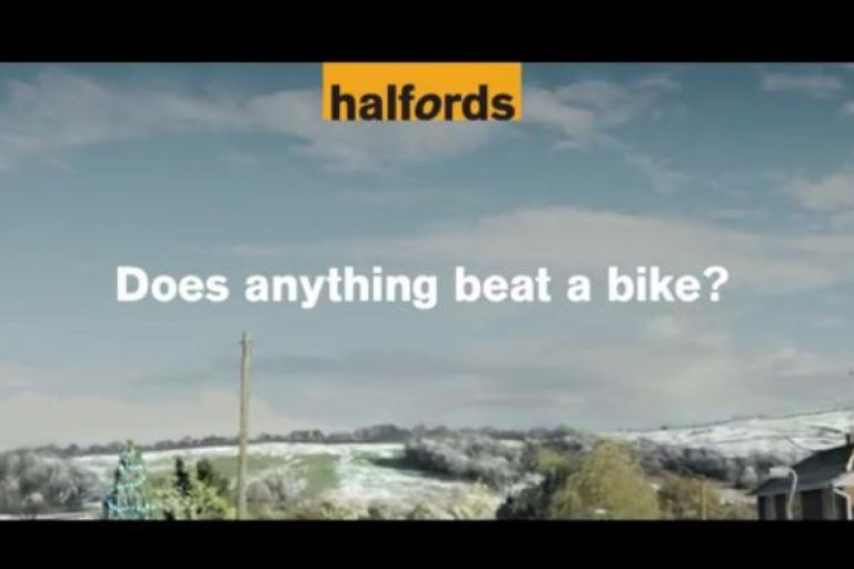 Halfords Christmas advert 2014