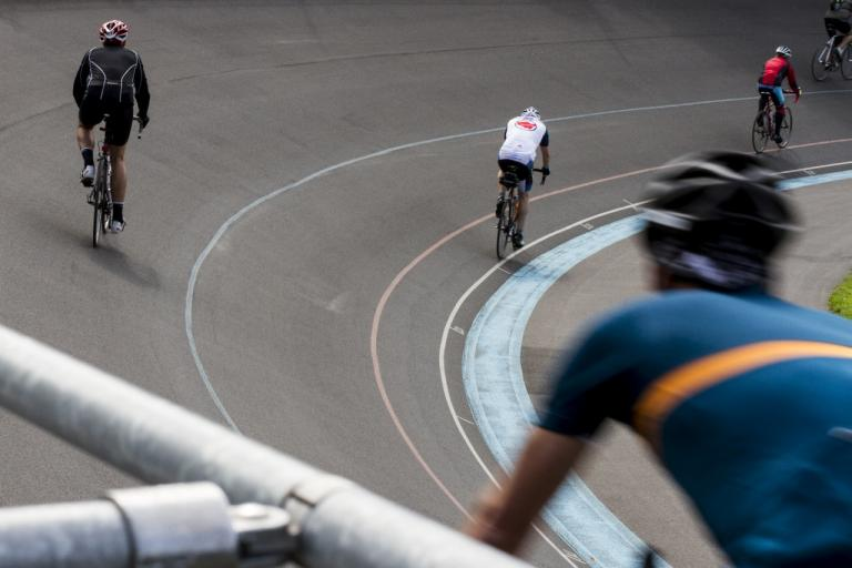 The MITIE London Revolution route takes a lap around Herne Hill Velodrome (image via Threshold Sports)