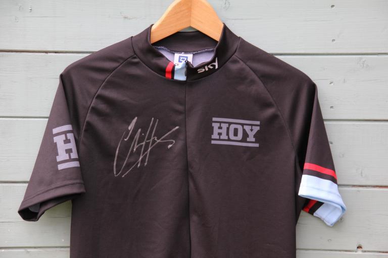 HOY signed jersey