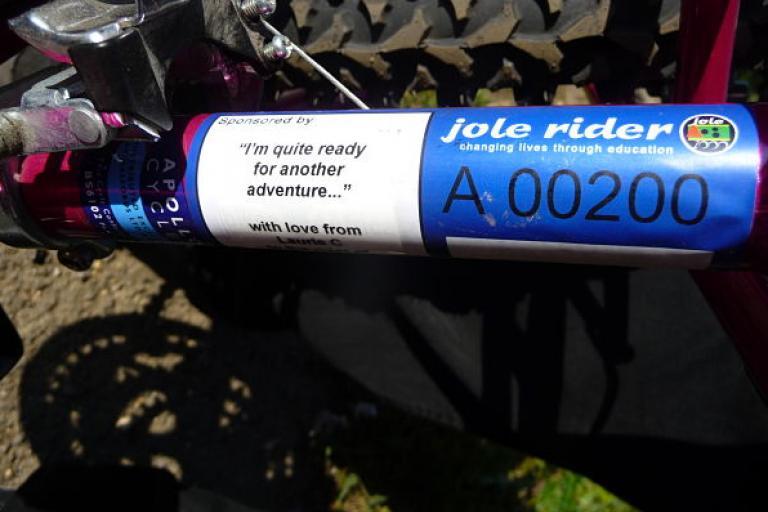 Jole Rider Badge A Bike for Christmas