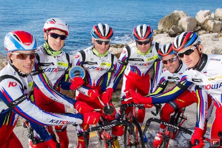 Katusha announce partnership with Caviar de Riofrio