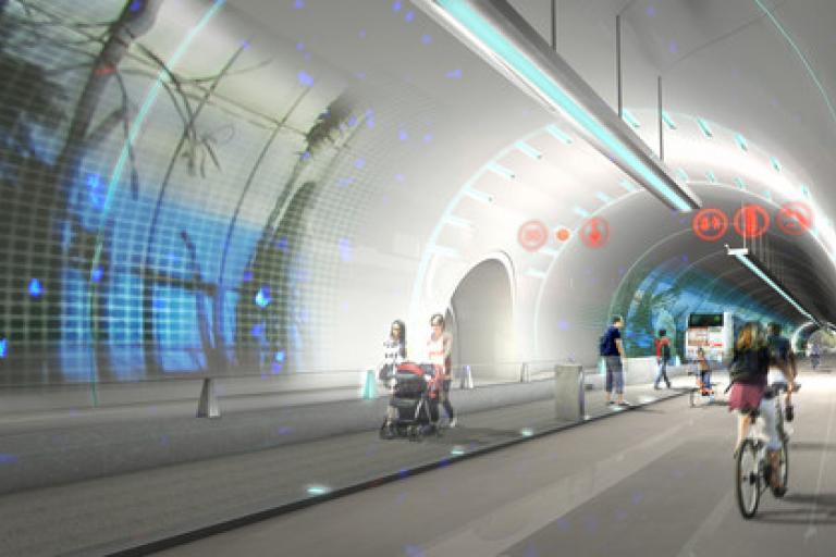 Le Tube, Lyon